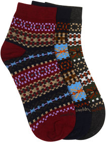 Hush Puppies Women's Fashion Ankle Socks Pack of 3 Pair