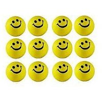 Smiley Balls Pack Of 12 Balls