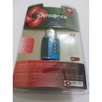 Samsonite Travel Sentry 3-Dial Combination Lock TSA Approved