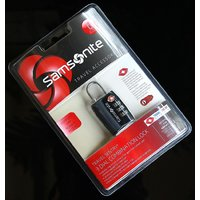 Samsonite Travel Sentry 3-Dial Combination Lock TSA Approved - 6144434