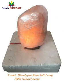 Cosmic Himalayan Rock Salt Lamp