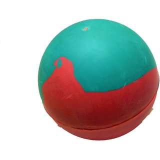 S N ENTERPRISES SNE1111 SMALL SIZE HARD RUBBER BALL FOR PETS ASSORTED (8 INCH DIAMETER, 185GM)