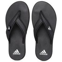 Adidas Men's Black Flip Flops