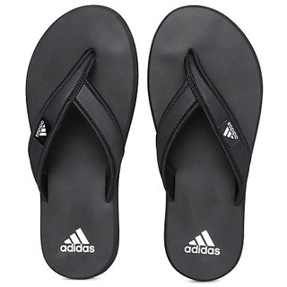 c32d9f8b4f856a Buy Adidas Men s Black Flip Flops Online - Get 82% Off