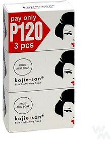 Kojie San Soap 3 in 1 100g Each (Pack Of 3) Skin whitening soap