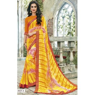 BELA CAROLINE LATEST DESIGNER SAREE-Yellow-SBW12825A-MV-Synthetic Georgette