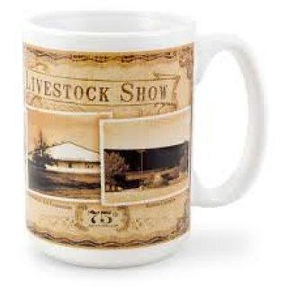 customized white mug ceramic