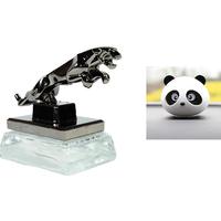 Classy Jaguar Refillable Car Perfume/ Panda Car Air Fre
