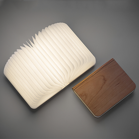 Book Lamp wooden