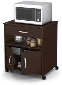 STATUS MICRO MU-101# MICROWAVE UNIT/ PRINTER UNIT/ MULTIPURPOSE UNIT/ WENGE COLOURED COMPACT UNIT FOR YOUR KITCHEN AND H