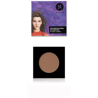 SUGAR Contour De Force Mini Bronzer - 01 Taupe Topper