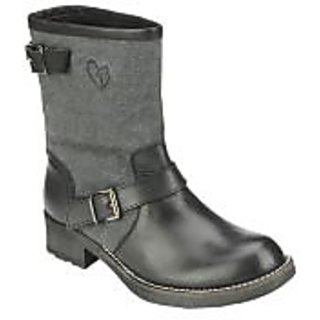 Delize Womens Black Boots