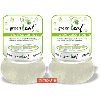 Green Leaf Cucumber Gel - Pack of 2