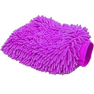 Microfibre duster gloves