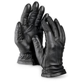 Fashion Empire Men's Black Leather Gloves
