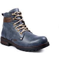 Baton Men's Blue Styalish Boot