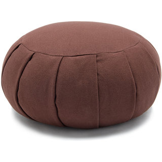 Meditation Round pleated cushion