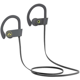 Stuffcool Louis Wireless Sport Stereo Bluetooth 4.1 Headphone with Mic - Grey