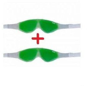 Eye Cool gel Mask Multipurpose Magnetic Clears Eye Sight 2 pack of 2