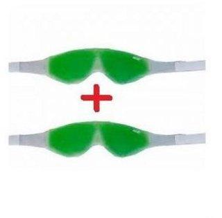 Eye Cool gel Mask Multipurpose Magnetic Clears Eye Sight 2 pack of 2