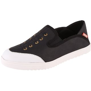Stylish Men's Sneakers Black and White