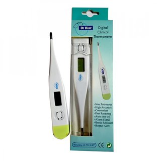 Dr. Diaz Digital Clinical Thermometer ( Hard Tip )