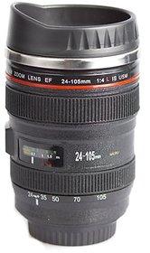 Camera Lens Shape Cup Coffee Tea Mug Stainless Steel - EF24-105MM