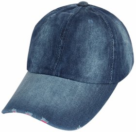 ILU Plain Denim cap Baseball cap Sport cap Caps for Men Women Woman Man Girls Boys