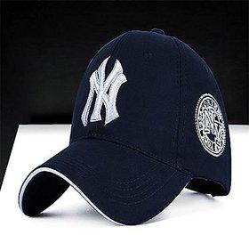 OMCY MEN'S SPORT NY CAP DARK BLUE