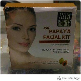 Astaberry Papaya Facial Kit- Set Of 2