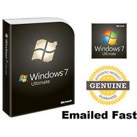 Windows 7 Ultimate 32 / 64 bit License Key download link