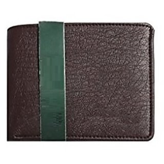 DIME Dark Maroon Pure Leather Wallet for Men