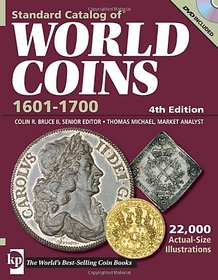 Standard Catalog of World Coins 1601-1700 (STANDARD CATALOG OF WORLD COINS 17TH CENTURY EDITION 1601-1700) Paperback  Import, 1 Dec 2008