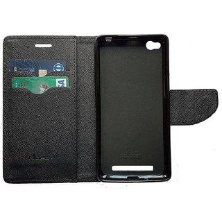 new products 7cd64 c2dd8 Redmi 5A Mercury Flip Cover black BY NK