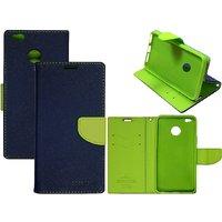 Redmi y1 Mercury Flip Cover blue green BY NK