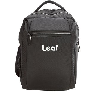 Leaf Splender 15 inch Expandable Laptop Backpack  Silver