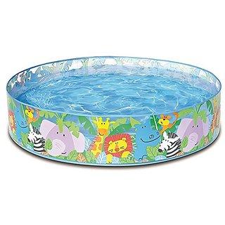 Snap Set Baby Pool Bath Water Tub for Kids - 4ft x 10 inch (1.22m x 25cm) Intex Snapset Water Pool - 4 Feet