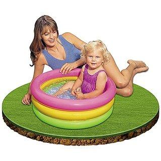 Intex Inflatable Baby Pool Multi Color (2-feet)