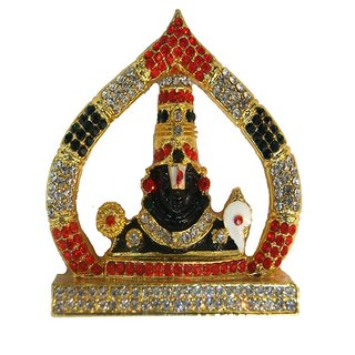 Haridwar Astro Black Stone Tirupati Idol