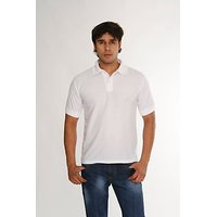 Weardo Men's White Polo