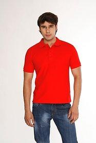 Weardo Men's Red Polo