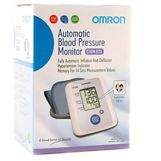 Omron BP Monitor Upper Arm (HEM-8711)