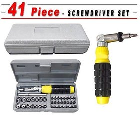 41 Pcs Tool Kit Foldable Screwdriver Set