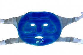 Aloe Vera Cool  Hot Face Mask with Strap on Velcro.