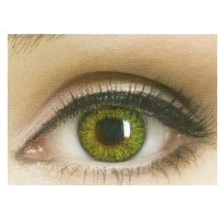 Celebration Yearly Disposable color Contact lens plano (2 lens per BOTTLE) Gemstone Green
