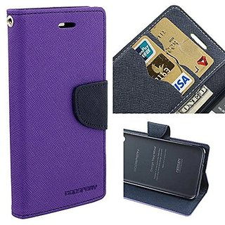 Mobimon Mercury Goospery Diary Flip Cover for Vivo V5 - (Purple)