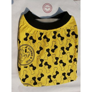 Dog T-Shirt for MILD-WINTER for Small Pups No 14 EXPORT QUALITY