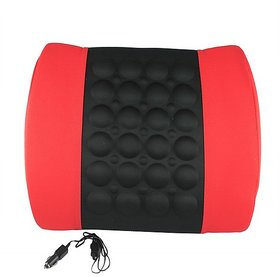 Back Support Pillow With Vibration for Home, Office or Car