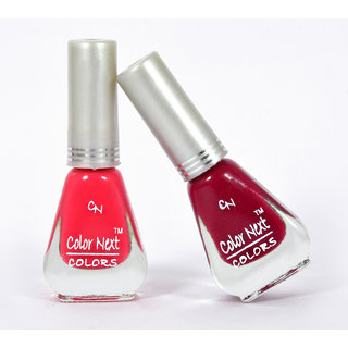 Buy Yuvi Maroon And Pink Nail Paint Online Get 40 Off