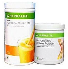 Herbalife Combo- F1 Mango Shake (500 gm) and F3 Protein Powder  (200 gm)